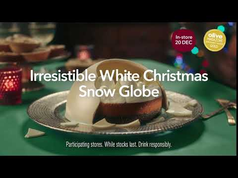 Irresistible White Christmas Snow Globe | Co-op Food