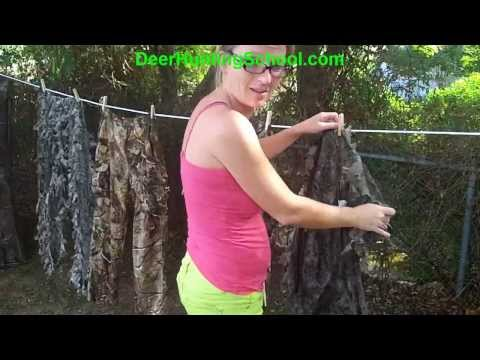 How To Put Activated Carbon In Regurlar Deer Hunting Clothes