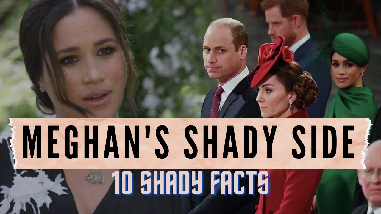 Download 10 Shady Facts About Meghan Markle: On Oprah, With Prince Harry, & Her Past