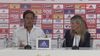 Συν. Τύπου κ. Μαρτίνς (Ολυμπιακός - Μπασακσεχίρ) / Press Conf. (Olympiacos FC - Başakşehir F.K.)