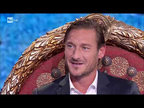 Gli aneddoti di Francesco Totti - Che tempo che fa 23/09/2018