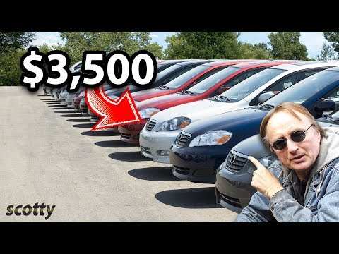 How To Buy Any Car For $3,500