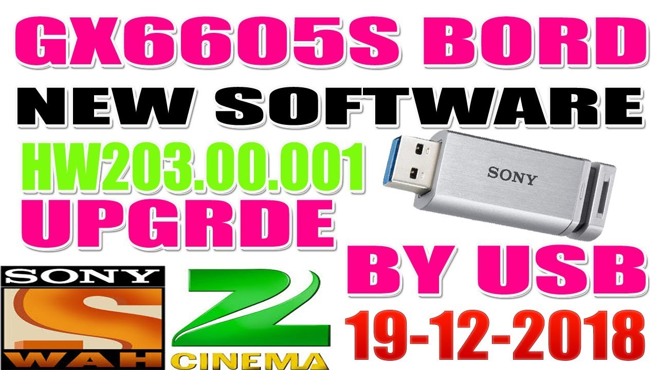 GX6605S HARDWARE VERSION HW203 00 001 POWERVU KEY NEW SOFTWARE BY SABIR ALI