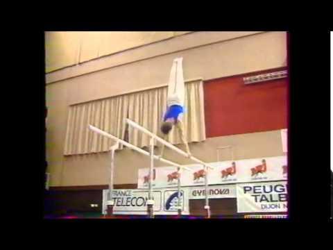 Claude CARMONA parallèles - 1988 Championnats de France AA