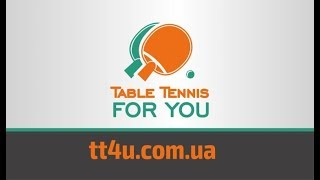 Визитка интернет-магазина Table Tennis For You в Харькове