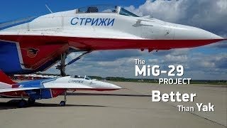 The MiG-29 scale jet model project. Better than Yak