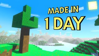 I Made Minecraft in 24 Hours