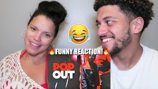 "MOM REACTS TO POLO G & LIL TJAY! ""POP OUT"" *FUNNY REACTION!*"