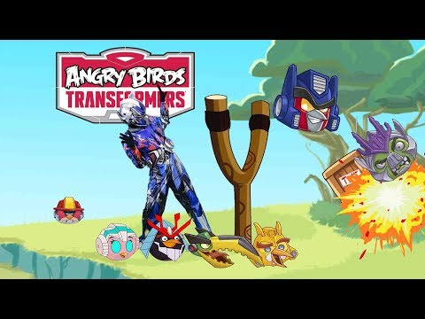 Angry birds transformers Bowser12345