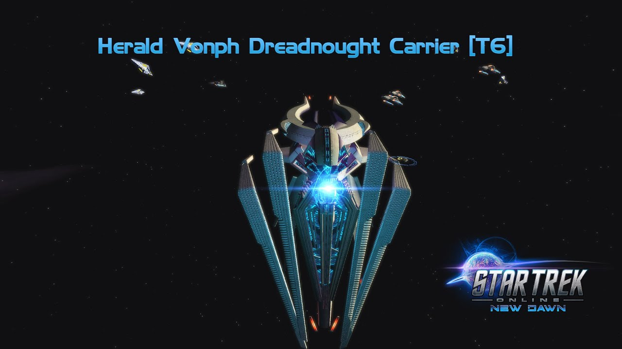Star Trek Online Herald Vonph Dreadnought Carrier T6