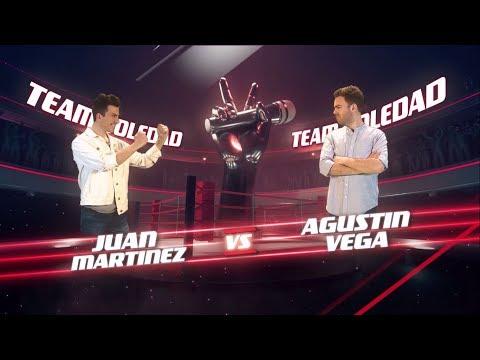 ¡Soledad Pastorutti y Carlos Vives coachean a Juan Pott y Agustín Vega! - La Voz Argentina 2018