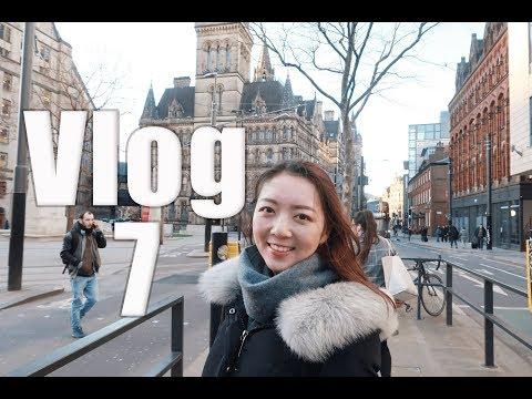 Vlog 7 | 英国生活 | 曼彻斯特 | 求职面试 | 留学生如何留英工作