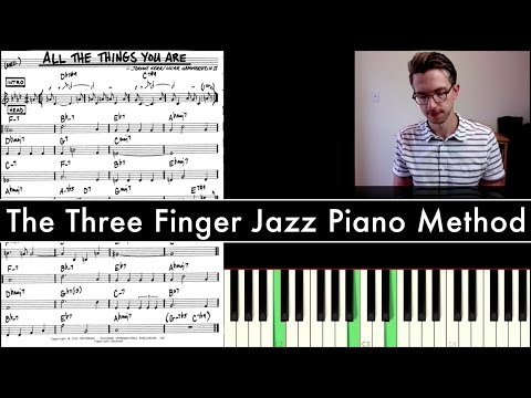 Easiest Way to Learn Jazz Piano - YouTube