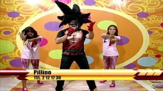 Dragon Ball Z tema, Pillino canta en Chavadisimo