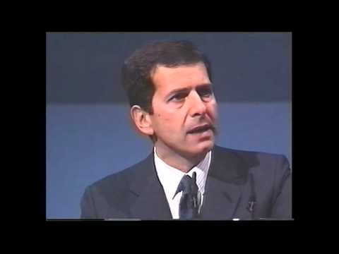 Gerald Ratner speaking at the 1991 Institute of Directors Annual Convention