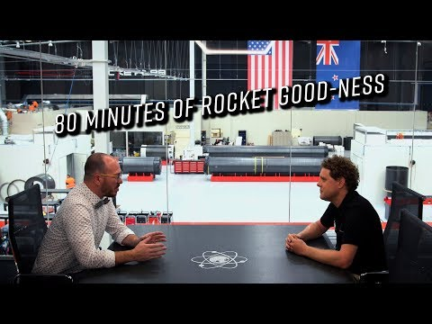 Sit down interview with Rocket Lab founder and CEO Peter Beck