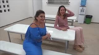 Irisnelia inauguração CRAS e Polo Alto Santo