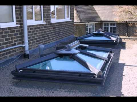 Barong Conservatories Roof Lantern Installation Youtube