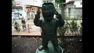 0.30μSv/h こちら葛飾区亀有公園 のベンチ 2012年6月