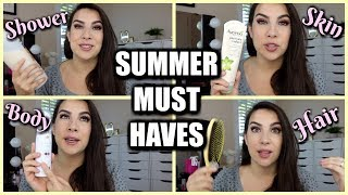 SUMMER BEAUTY PROBLEM SOLVERS (LOTS of Drugstore)