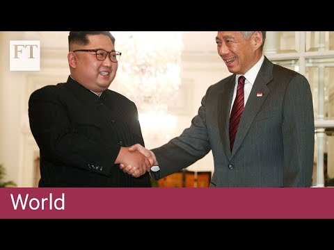 Kim Jong Un meets Singapore PM Lee Hsien Loong