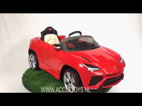 Elektrische Kinderauto Met Afstandsbediening Www.accu Toys.nl Lamborghini  Urus