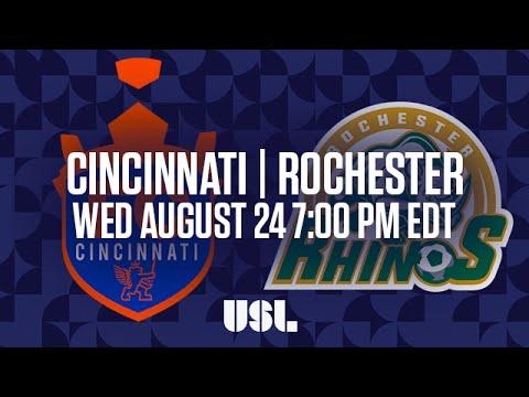 WATCH LIVE: FC Cincinnati vs Rochester Rhinos 8-24-16
