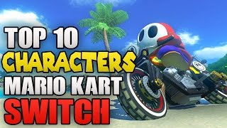 Top 10 Characters I Want in Mario Kart Switch
