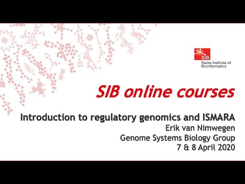 Introduction To Regulatory Genomics And ISMARA