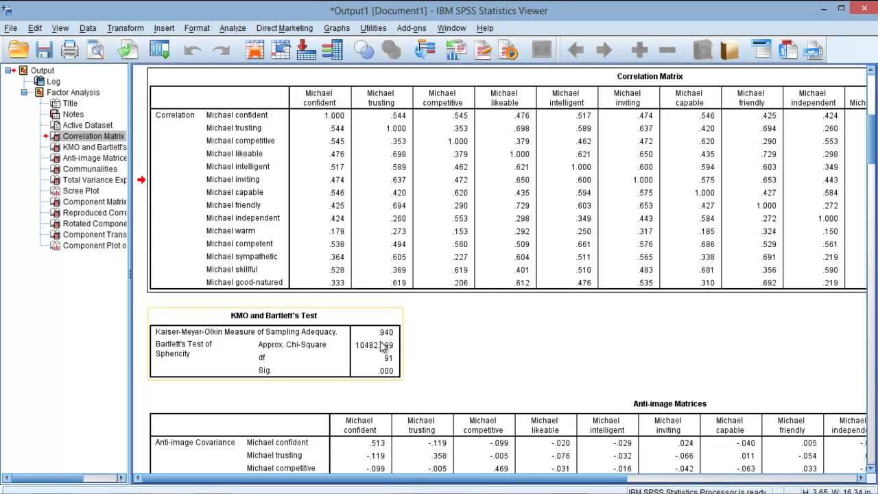 SPSS Analysis?