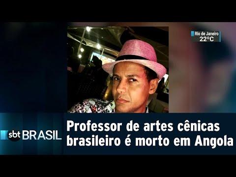 Família pede ajuda para trazer ao Brasil corpo de ator morto em Angola | SBT Brasil (26/07/18)