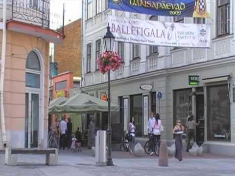 Downtown of Tartu, Estonia
