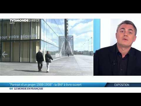 Exposition : la Bibliothèque Nationale de France à livre ouvert