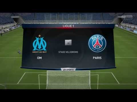 Olympique de Marseille - Paris SG [FIFA 15] | Ligue 1 2014-2015 (31ème Journée) | CPU Vs. CPU