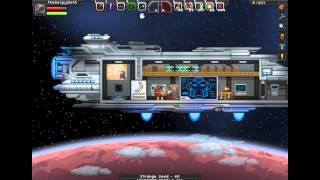 Starbound : How to get EASY FUEL for your ship