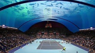 Underwater Tennis Court Grand Slam Tournaments  Dubai