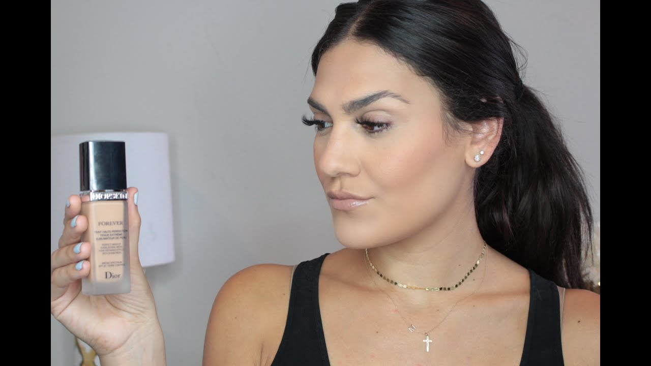 Diorskin Forever Foundation First Impression & Review ...
