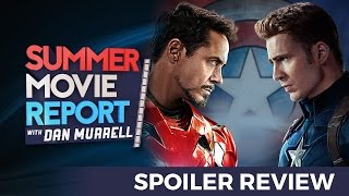 Captain America: Civil War-  SPOILER MOVIE REVIEW