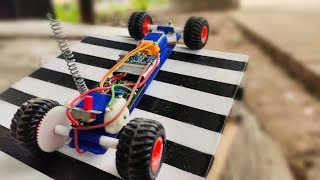 How to make Rc Car At Home with easy steering