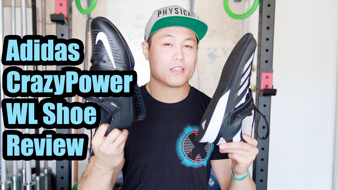 quality design 4b2e4 676a0 Adidas CrazyPower Weightlifting Shoe Review  Comparisons