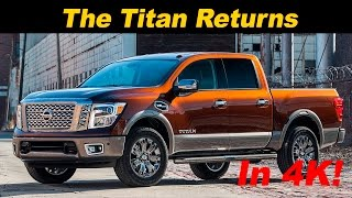 2017 Nissan Titan Pickup First Drive Review - In 4K UHD!