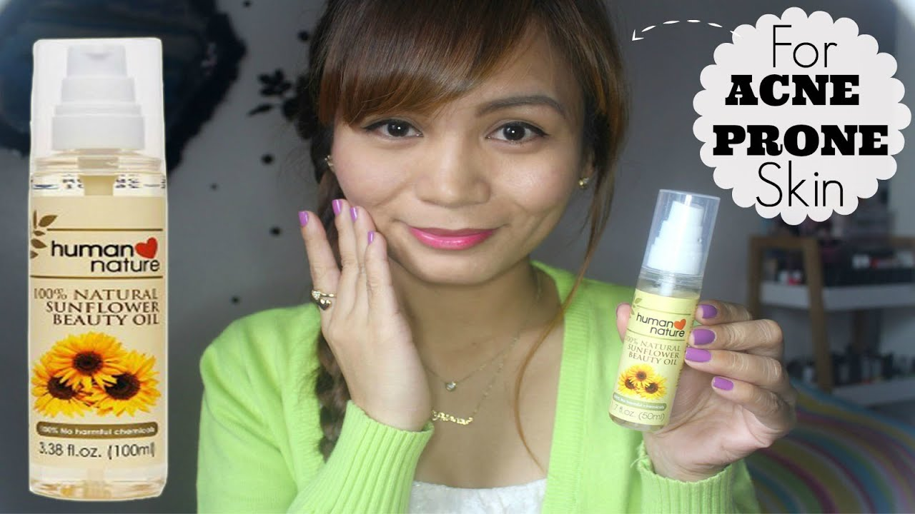 Human Nature Sunflower Oil For Acne Review