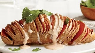 Wow! Try Our Hasselback Sweet Potatoes