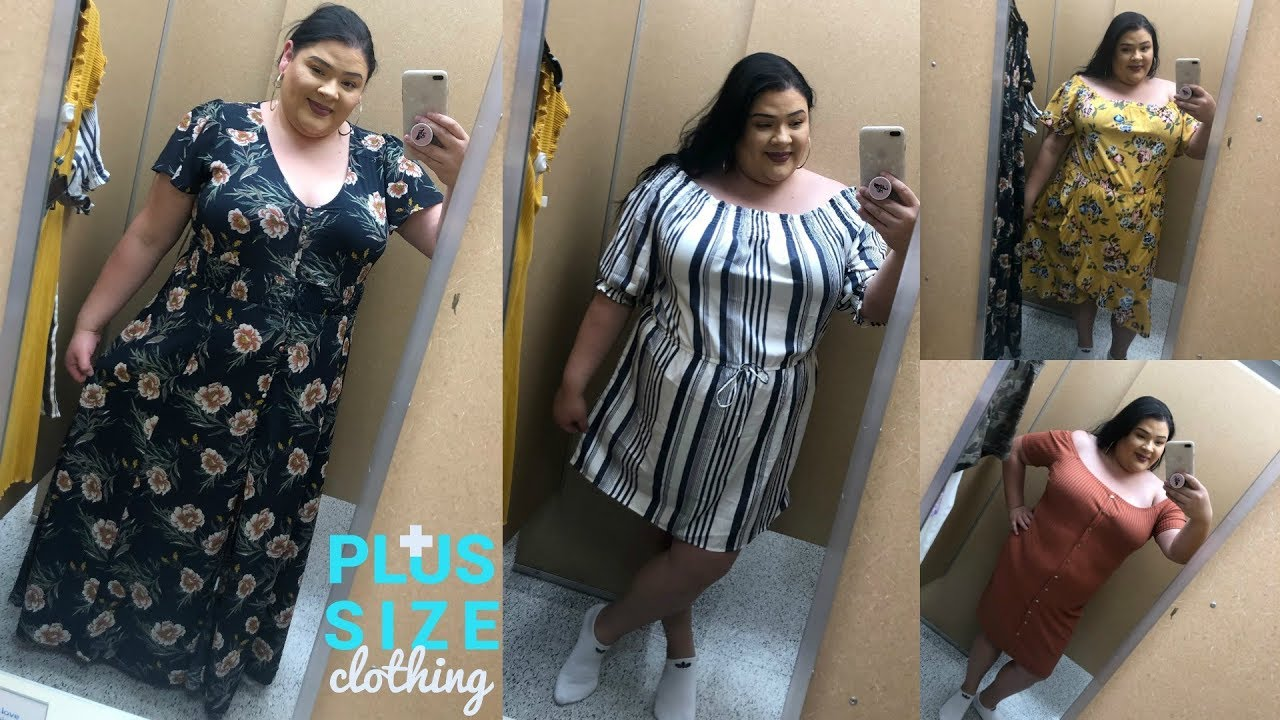 #FASHIONFRIDAY PLUS SIZE INSIDE THE DRESSING ROOM : ROSS DRESS FOR LESS |  DRESSES
