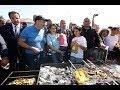Վարչապետն ընտանիքի հետ ներկա է գտնվել Սեւանի թերակղզում կազմակերպված ձկան փառատոնի բացմանը