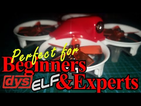 DYS ELF 83mm Brushless micro Quad -Review - Flight Test
