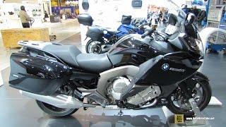2015 BMW K1600GT - Walkaround - 2014 EICMA Milan Motorcycle Exhibition
