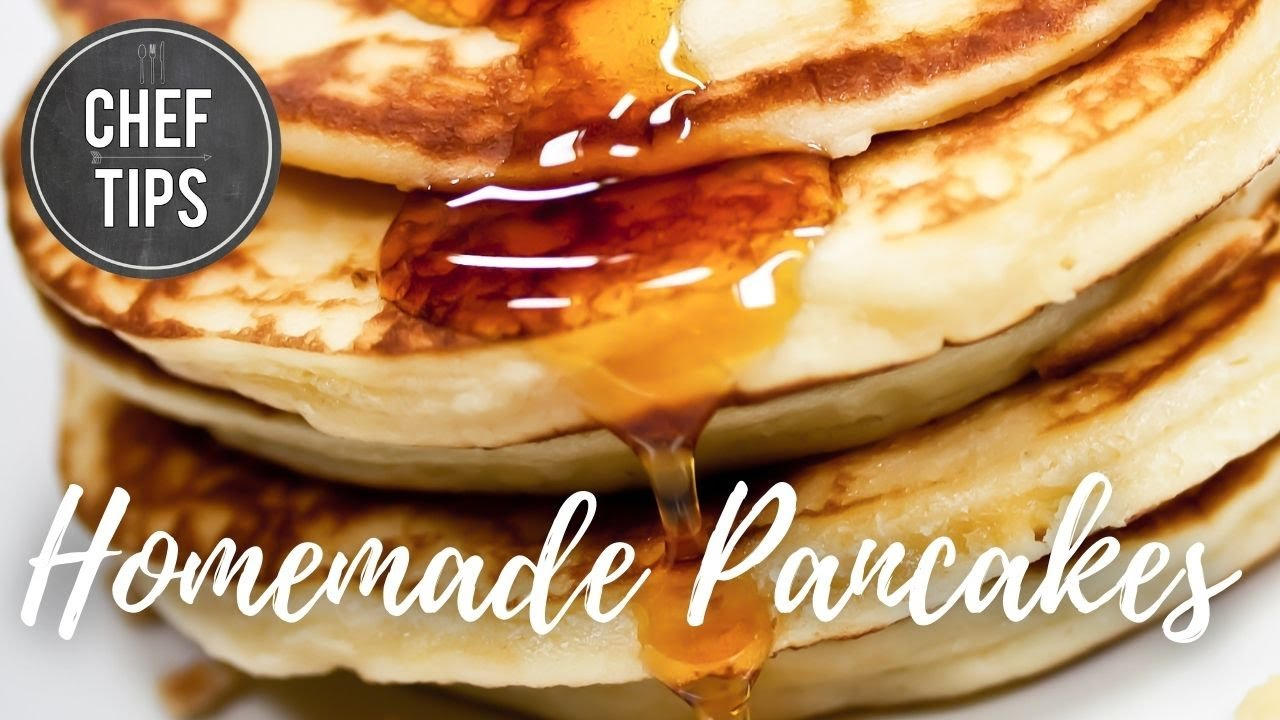 Homemade pancakes youtube ccuart Images