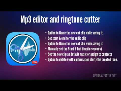 Mp3 Editor And Ringtone Cutter