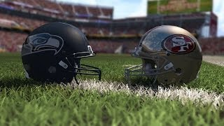 Madden 15 Gameplay Seattle Seahawks vs San Francisco 49ers New Levi